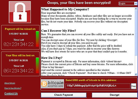 וירוס הכופר - WannaCry
