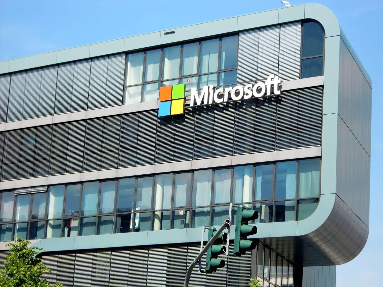 בניין חברת מיקרוסופט