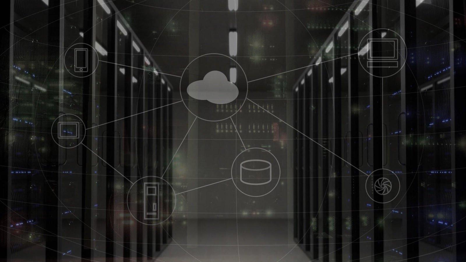 הדמיה של שירותי ענן שונים