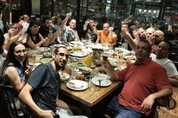 ערב גיבוש – 11.9.2017 חדר בריחה וארוחת ערב